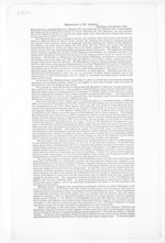 4 pages, from Papers relating to general government - Memoranda from Premier and Cabinet