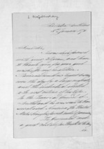 4 pages written 8 Jan 1876 by Lauchlan McGillivray, from Inward letters - Surnames, Macfar - McHar