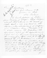 4 pages written 21 Mar 1857 by Alfred Domett and John Davis Canning in Napier City to Sir Thomas Robert Gore Browne in New Zealand, from Secretary, Native Department -  Administration of native affairs