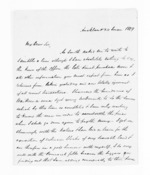 3 pages written 24 Jun 1859 by John Rogan in Auckland Region, from Inward letters - John Rogan