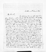 4 pages written 29 Mar 1859 by John Rogan in Auckland Region, from Inward letters - John Rogan