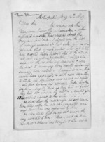 3 pages written 14 May 1849 by Rev Thomas Skinner to Sir Donald McLean in Wanganui, from Inward letters - Surnames, Sin - Sma