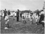 Sports day at Gladys Sommerville's school, Thorndon, Wellington
