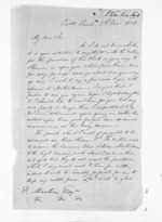 4 pages written 8 Dec 1852 by John Valentine Smith in Castlepoint to Sir Donald McLean, from Inward letters - Surnames, Smith