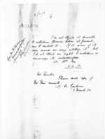 1 page, from Papers relating to general government - Memoranda from Premier and Cabinet