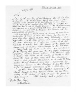 8 pages written 18 Oct 1860 by Charles Henry Strauss and F Richard Ferguson in Waiuku to Sir Donald McLean in Auckland Region, from Secretary, Native Department -  Administration of native affairs