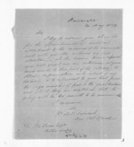 2 pages written 24 May 1859 by Henry Thomas Spratt in Wairarapa to Sir Donald McLean, from Inward letters - Surnames, Spe - Sta