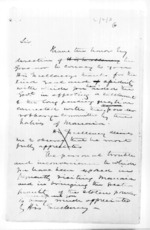 19 pages written 6 Jan 1857 by Sir Donald McLean, from Secretary, Native Department - Administration of native affairs