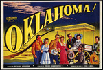 J C Williamson Theatres Ltd :Oklahoma! Music by Richard Rodgers, lyrics by Oscar Hammerstein II, based on the play by Lynn Riggs. Wright & Jaques Ltd., printers, 52-54 Albert St, Auckland. [1950].