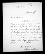 2 pages to Robert Reid Parris, from Correspondence and other papers in Maori