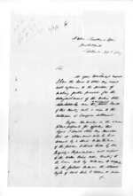 19 pages written 22 Sep 1859 by an unknown author in Auckland City, from Secretary, Native Department - Administration of native affairs