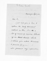 3 pages written 7 Sep 1862 by Stephenson Percy Smith, from Inward letters - Surnames, Smith