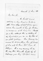 3 pages written 17 Jun 1861 by John Rogan in Taranaki Region, from Inward letters - John Rogan