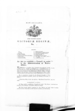 3 pages, from Secretary, Native Department -  Administration of native affairs