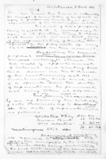 2 pages written 5 Dec 1863 by an unknown author in Auckland Region, from Hawke's Bay.  McLean and J D Ormond, Superintendents - Finance papers