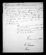 2 pages written 28 Sep 1844 by Poharama Te Whiti, from Correspondence and other papers in Maori