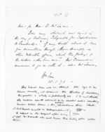 1 page written 28 Jan 1870 by Sir William Fox, from Papers relating to general government - Memoranda from Premier and Cabinet