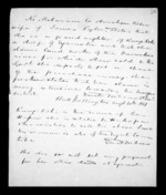 1 page written 30 Aug 1851 by Sir Donald McLean, from Correspondence and other papers in Maori