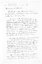 7 pages, from Papers relating to general government - Memoranda from Premier and Cabinet
