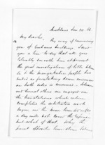 3 pages written 24 Jan 1863 by John Rogan in Auckland Region, from Inward letters - John Rogan