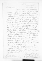 1 page written 28 Oct 1870 by Charles Bonython Borlase in Wellington to Sir Donald McLean, from Inward letters - Surnames, Boo - Bor