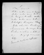 1 page written 14 Sep 1850 by an unknown author in Taranaki Region, from Correspondence and other papers in Maori
