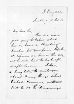 2 pages written 18 Nov 1862 by John Rogan in Auckland Region, from Inward letters - John Rogan