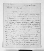3 pages written 14 Dec 1847 by Morison Charles in Sydney to Sir Donald McLean in New Plymouth, from Inward letters - Charles Morison