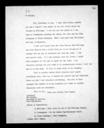 4 pages written by Hori Niania to Sir Donald McLean, from Correspondence and other papers in Maori