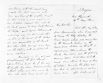 4 pages written 26 May 1863 by John Rogan in New Plymouth District, from Inward letters - John Rogan