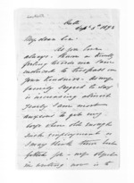 4 pages written 5 Sep 1873 by Captain John Lockett, from Inward letters - Surnames, Loc - Log