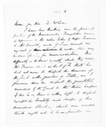 3 pages written 22 Sep 1870 by Sir William Fox to Sir Donald McLean, from Papers relating to general government - Memoranda from Premier and Cabinet