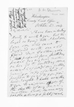 3 pages written 25 Oct 1864 by Allan Maclean Skinner, from Inward letters - Surnames, Sin - Sma