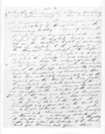 3 pages written by an unknown author in Rangitikei District to Sir Thomas Robert Gore Browne, from Secretary, Native Department -  Administration of native affairs