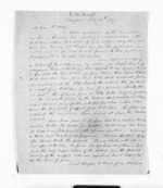 2 pages written 14 Jul 1857 by R W Smith in Wanganui to Sir Donald McLean, from Inward letters - Surnames, Smith