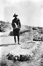 Colonel Harris' grave, Gallipoli, Turkey
