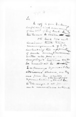 7 pages written 31 Jul 1860 by Sir Donald McLean, from Secretary, Native Department -  Administration of native affairs