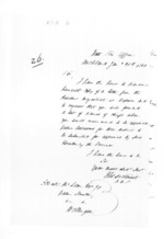 4 pages written 12 Dec 1859 by Thomas Henry Smith and John Curling in Auckland City and Napier City to Sir Donald McLean in Auckland Region and Wellington, from Secretary, Native Department - Administration of native affairs