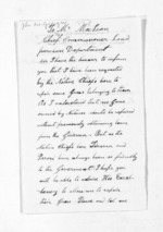 2 pages written 28 Sep 1857 by John MacGregor in Kaipara District to Sir Donald McLean, from Inward letters - Surnames, Macfar - McHar