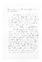 3 pages written 20 Apr 1857 by George Sisson Cooper in Napier City, from Secretary, Native Department -  Administration of native affairs