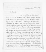 4 pages written 1 Feb 1859 by John Rogan in Mangawhero, from Inward letters - John Rogan