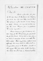 3 pages written 4 Sep 1854 by Gideon Smales to Sir Donald McLean, from Inward letters - Surnames, Sin - Sma
