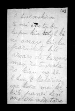 1 page to Sir Donald McLean, from Correspondence and other papers in Maori