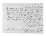 2 pages written 10 Dec 1864 by an unknown author in Napier City, from Hawke's Bay.  McLean and J D Ormond, Superintendents - Finance papers