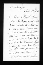 Letter from Apera Kiwi to Te Mete - 2 pages, related to Apera Kiwi, Onehunga, Ngati Mahanga (Tainui) and Ngati Tai, from Inward letters in Maori