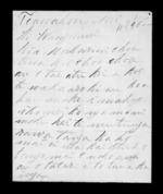 Letter from Rawiri to McLean - 3 pages written 10 May 1846 by Rawiri Te Awahou in Te Awahou to Sir Donald McLean in Wanganui, related to Te Ati Haunui a Paparangi, from Inward letters in Maori