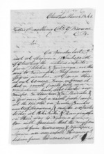 6 pages written 13 Mar 1861 by Rev John Morgan in Otawhao to Sir Thomas Robert Gore Browne, from Inward letters - John Morgan