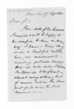 2 pages written 17 Sep 1861 by Edward McGlashan in Dunedin City, from Inward letters - Surnames, Macfar - McHar