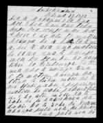 Letter from Retimana and company to McLean - 3 pages written 22 Dec 1852 by Te Retimana Te Korou in Kaikokirikiri to Sir Donald McLean, related to Wairarapa, Taranaki (Taranaki Iwi), Ngati Kahungunu, from Inward letters in Maori