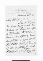 3 pages, from Inward letters - Surnames, Sin - Sma